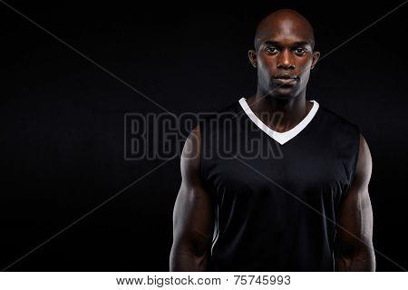Muscular Young Man In Sportswear