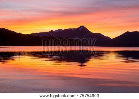 Colored Sundown