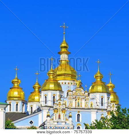 St. Michael's Cathedral In Kiev
