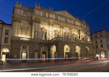 La Scala Opera House, Milan, Lombardy, Italy