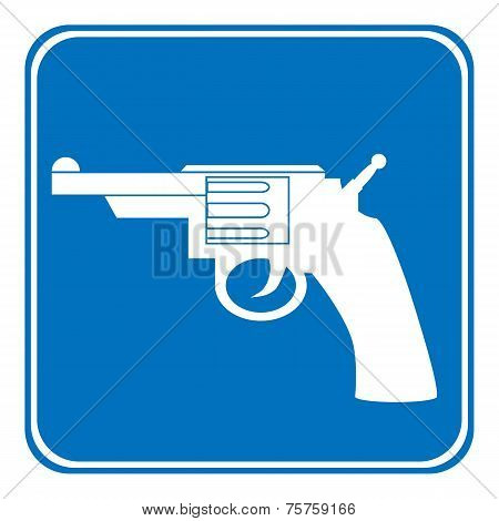 Revolver Allowing Sign