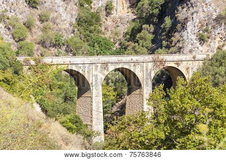 Old Bridge on Crete