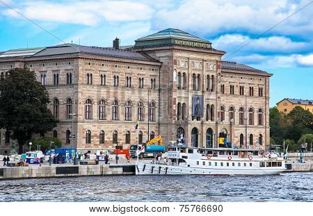 Centre of city Stockholm