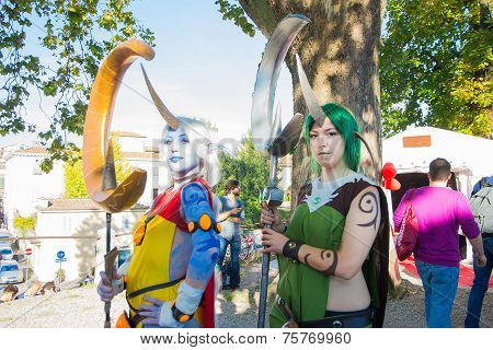 Cosplay In Lucca