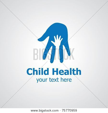 Child Health Vector Logo Design