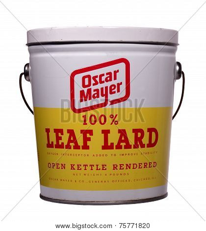 Leaf Lard Can