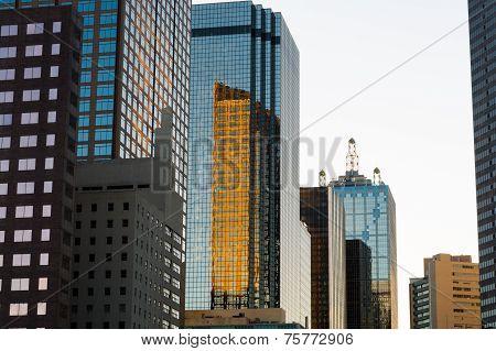 Dallas skyline Partial