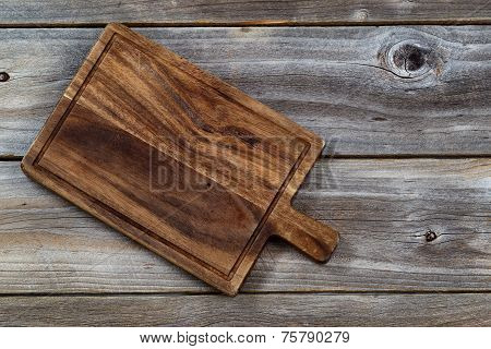 Old Wooden Server Board