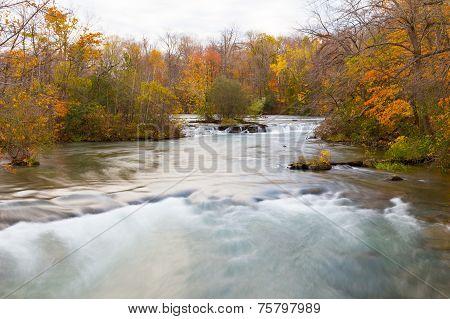 Fast Flowing Stream