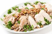 picture of ground nut  - Chicken with spiced rice and nuts - JPG