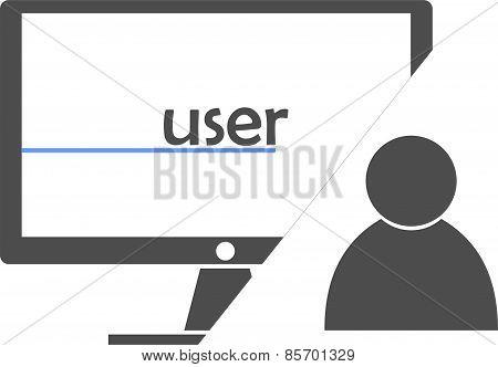 vector - user