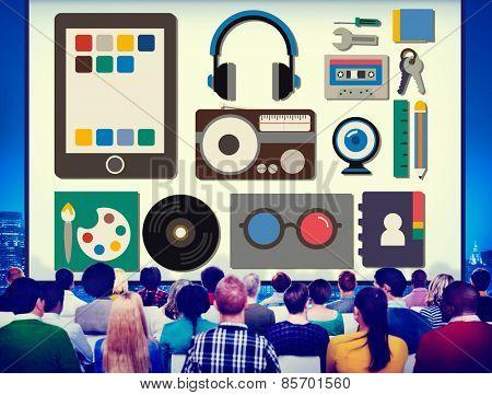 Identity Trademark Copyright Brand Individuality Advertising Concept