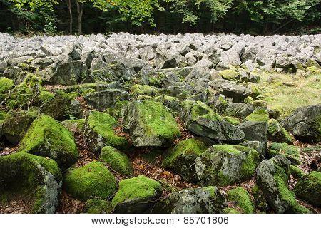 Big Stones In The Andesite Stone Sea