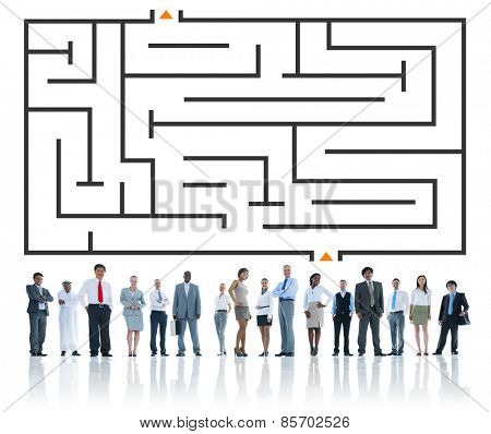 Business  Strategy Corporate Teamwork Concept