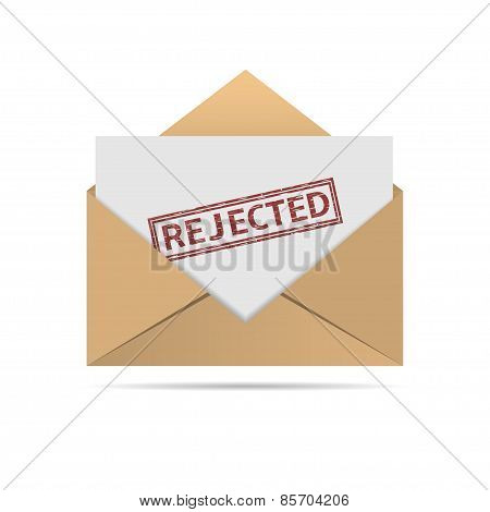 Rejected letter