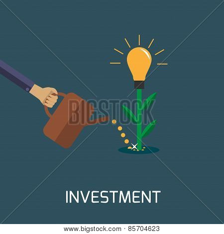 Vector investment illustration