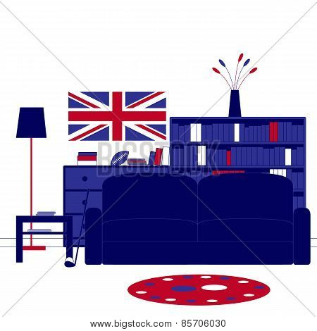 British Room Interior