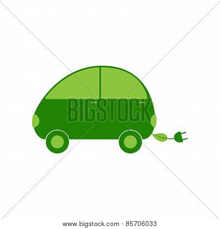 Electric Car Logo Template