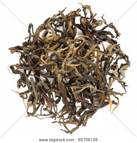 Mensong Yunnan Red Tea Crop From Menghai Area