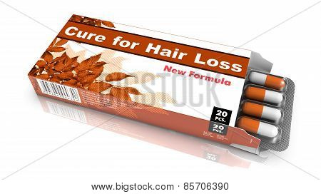 Cure for Hair Loss - Blister Pack Tablets.