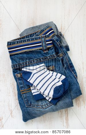 Jeans With Socks