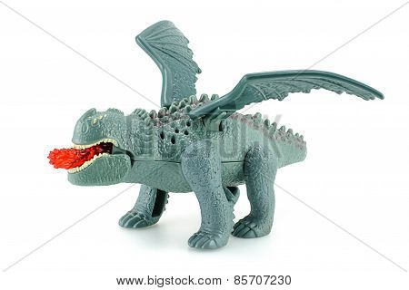 Red Death Dragon Toy Character From How To Train Your Dragon.