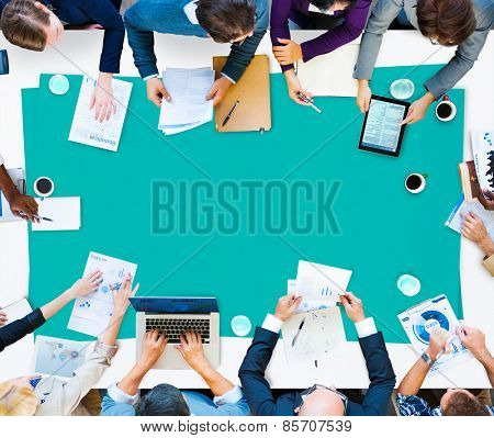 Business Meeting Office Corporate Concept