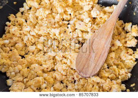 Home Made Scrambled Eggs