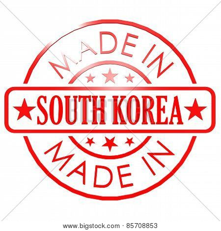 Made In South Korea Red Seal