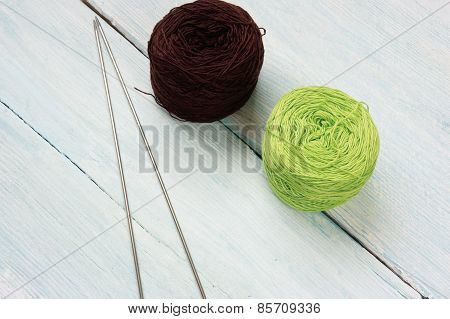 Knit, Ball Of Wool, Handmade Present