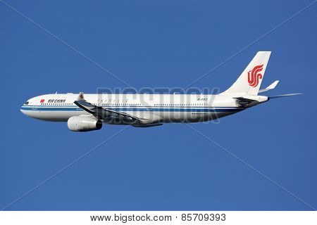 Air China Airbus A330 Airplane
