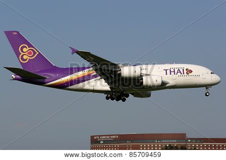 Thai Airways International Airbus A380-800 Airplane