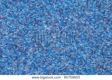 Blue Woolen Texture