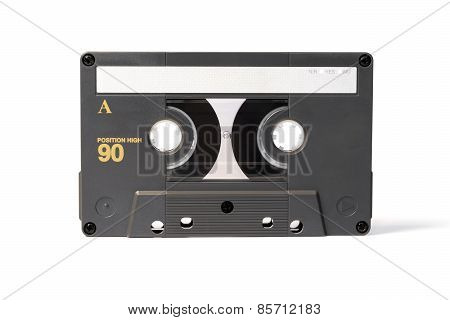 Gray Vintage Audio Cassette Tape