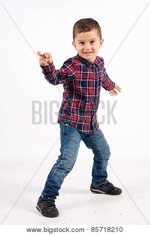 Little Boy Dancing