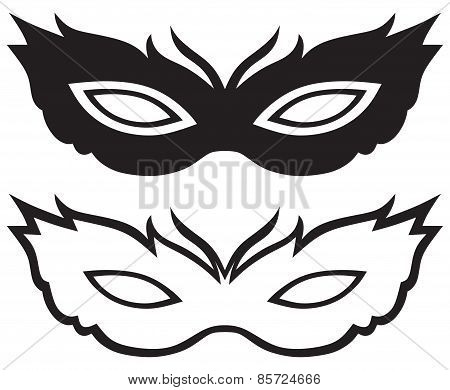 Masks for masquerade costumes