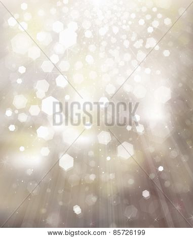 Glitter silver background.