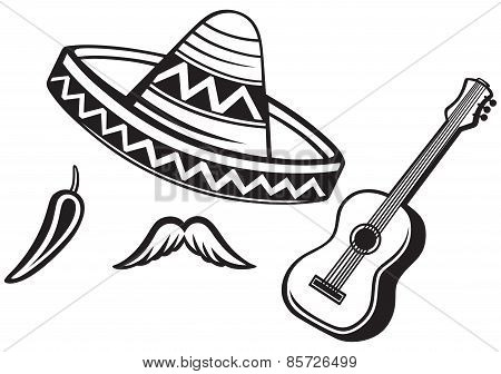 Mexican symbols