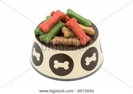 A Bowl Of Dog Treats