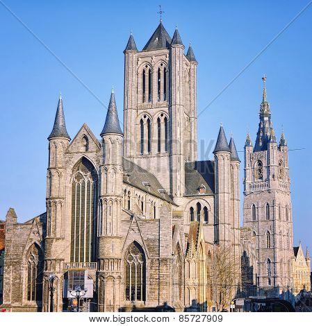 Sant - Nicholas Church in Ghent