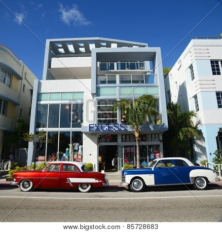 Art Deco Style Excess in Miami Beach