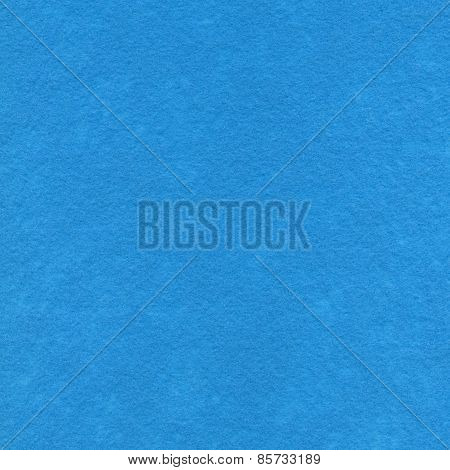 High Resolution Close Up Of Baby Blue Felt Fabric.