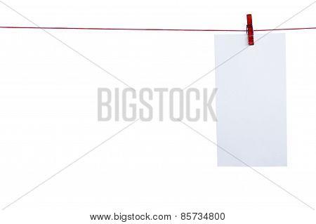 Hanging Paper.