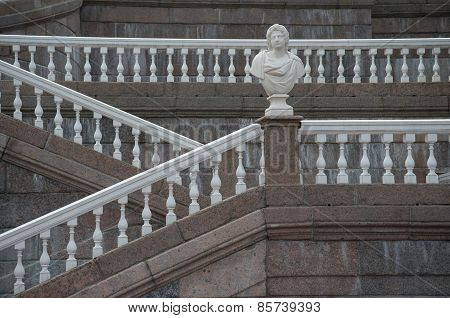 Stairway of The Grand(Menshikov)Palace