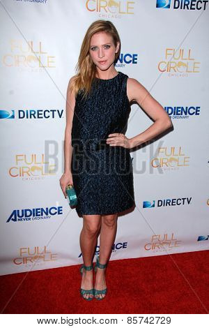 LOS ANGELES - MAR 16:  Brittany Snow at the DirecTV's