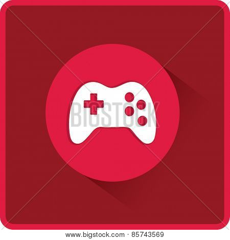 Vector flat Gaming Joystick Icon