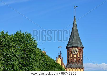Konigsberg Cathedral, Symbol Of Kaliningrad. Russia