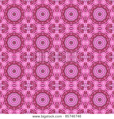 Abstract Pink Rose Pattern Background.