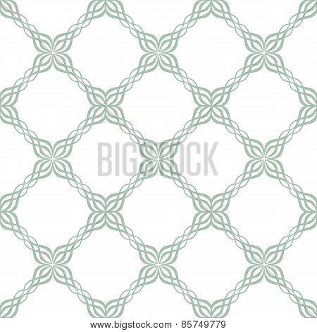 Seamless ornate tile pattern
