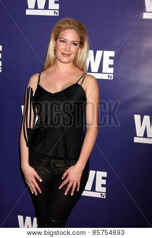 LOS ANGELES - MAR 19:  Heidi Montag at the WE tv Presents